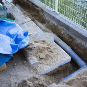 静岡の下水道切替工事